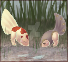 One Fish, Two Fish by kimikohime