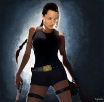 Tomb Raider-MS Paint by AJjudez