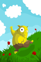 Frolicking Drowzee by Albatrossed