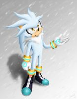 Silver The Hedgehog by Selene-Galadriel