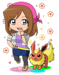 Collab-ish: Avery AND Flareon Blink! by BlazingSoul96