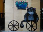 Cat on a wheel by D-Architect