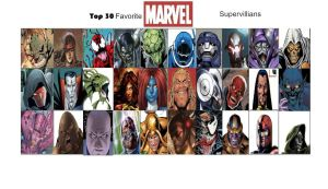 Jefimus' top 30 Favorite Marvel Supervillians by JefimusPrime