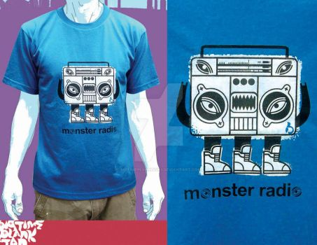 monster radio blue by bigtimeplankton3