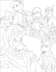 king sombra vs Dash Acewing WIP by QuickTron