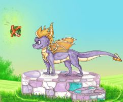 Thank you for your help, Spyro by Benkku