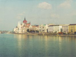 Postcard from Budapest by Justynka