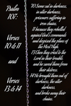 Psalm 107: 10-11 and 13-14 by ChristCentric