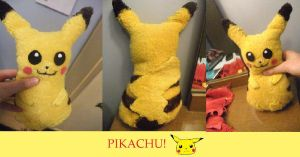 Pikachu Plush by MissSashy