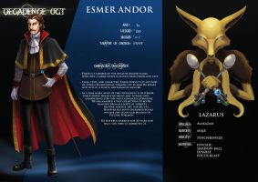 Decadence Oct - Esmer Andor by arkeis-pokemon