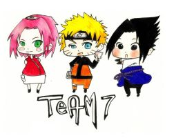 naruto_team 7 by yuipo