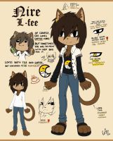 Ref: Nire L-fee the cat by CofL-fee