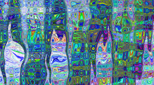Blue cats by Juanilla