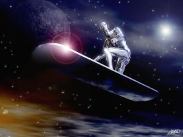 The Silver Surfer by ivanraposo