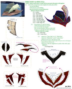 FFXI Pimp Hat Template by zelas