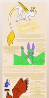Heaven's Messengers Ref sheet by Baka-Inu-Ninja