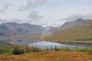 scottish highlands by andrewmaund