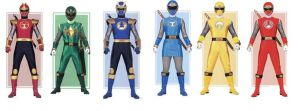 Ninja Storm Power Rangers by planeteer1988