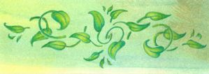Tiny Art - Green Leaves by Catamount