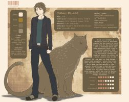 Character Sheet - Micah Chase by LittleMissWiseass