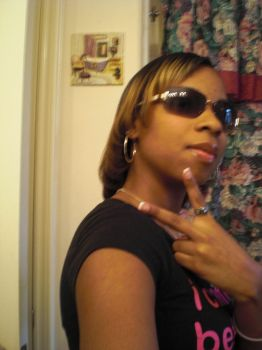 Bein fly wit stunner shades on by sexycaramel86
