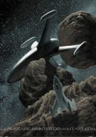 Asteroid Business by Landscape-Painter