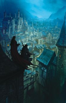 The Crown Conspiracy, MJ Sullivan by MarcSimonetti