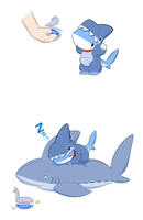 Shark pajama by 0Vress0