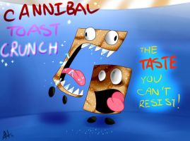 Cannibal Toast Crunch by Smudgeandfrank