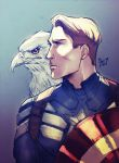 Captain America by Maby-chan