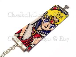 Sailor Moon Beaded Bracelet by Classikelly