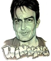 Charlie Sheen - Winning - by ComicAJ