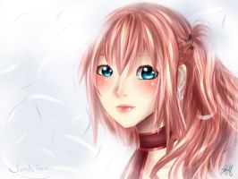 Serah Farron Final Fantasy XIII-2 by HappySmileGear