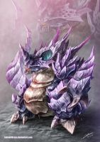 Nidoking by Dragolisco