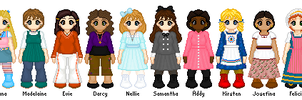 AG Sprites - My Collection by Masquerade-MLP