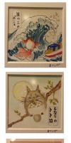 GHIBLI WOODBLOCK WATERCOLOR by PokeShoppe