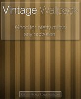 Vintage Wallpack by lost--in--thought