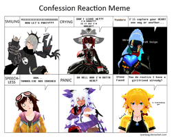 Confession Reaction FEMALE edition by Clonesaiga