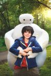 Big Hero 6 cosplay - Baymax and Hiro by DeWail-15