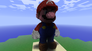 Minecraft - Mario 3D by Ludolik
