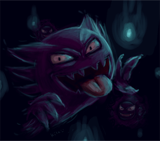 Haunter by kila-ibyao