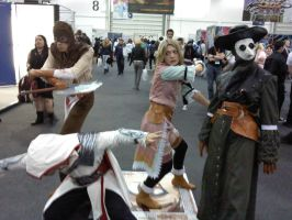 assassins creed cosplayers 2 by myistic