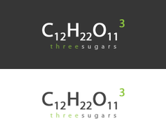 threesugars Logotype by neko-xexe