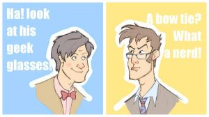 Doctor Who: 10th and 11th by sn0otchie