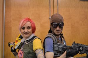 Borderlands cosplay - Vault Hunters by eitanya