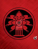 Hail Hydrant vector design by fireforgegrafx