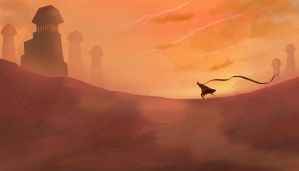 Journey -  Long The Desert Mile by TacoSauceNinja