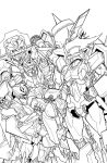 TF MTMTE 41 cover lineart by markerguru