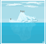 Tip Of The Iceberg by AdroitCell