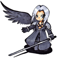 Sephiroth by Minimiep